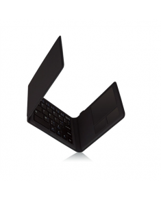 Kanex MultiSync Foldable mini Travel Keyboard with Touch Pad Wireless keyboad with touchpad, Keyboard layout Full Keyboard Layout, Trackpad, Black
