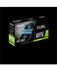 Asus ASUS DUAL-RTX2070S-O8G-EVO NVIDIA, 8 GB, GeForce RTX 2070 SUPER, GDDR6, PCI Express 3.0, Processor frequency 1605 MHz, Memory clock speed 14000 MHz, HDMI ports quantity 1