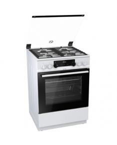 Gorenje Cooker K634WF Hob type Gas, Oven type Electric, White, Width 60 cm, Electronic ignition, Grilling, LED, 71 L, Depth 60 cm