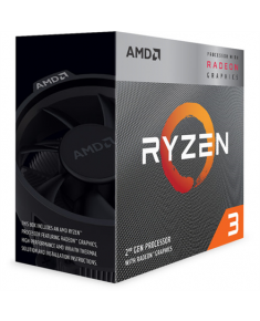 AMD AMD Ryzen 3 3200G, 3.6 GHz, AM4, Processor threads 4, Packing Retail, Processor cores 4, Component for PC
