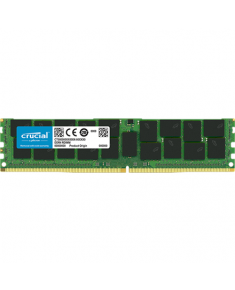Crucial 16 GB, DDR4, 2666  MHz, PC/server, Registered Yes, ECC Yes