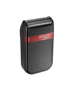 Adler Shaver AD 2923 Cordless, Charging time 1 h, Operating time 45 min, Wet use, NiMH, Number of shaver heads/blades 1, Black