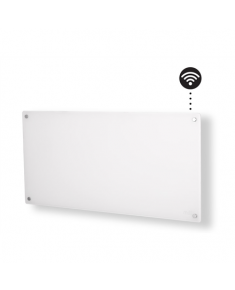 Mill Heater AV900WIFI Glass WiFi Panel Heater, 900 W, Number of power levels 1, Suitable for rooms up to 11-15 m², White