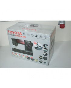 SALE OUT. Toyota SUPERJ26 Sewing Machine Toyota SUPERJ26 Black, Number of stitches 26, Number of buttonholes 4, DAMAGED PACKAGING, Automatic threading