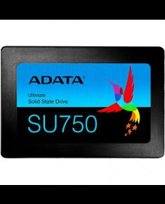 ADATA SSD SU750 256 GB, SSD interface SATA, Write speed 520 MB/s, Read speed 550 MB/s