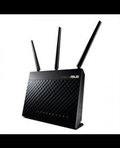 Asus AC1900 Dual Band Gigabit WiFi Router RT-AC68U B1 2PACK 802.11ac, 10/100/1000 Mbit/s, Ethernet LAN (RJ-45) ports 4, Mesh Support Yes, MU-MiMO Yes, 3G/4G via optional USB adapter, Antenna type External