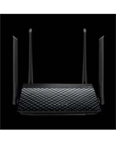 Asus High-Speed N600 WiFi Router RT-N19 802.11n, 10/100 Mbit/s, Ethernet LAN (RJ-45) ports 2, Mesh Support No, MU-MiMO No, No mobile broadband, Antenna type External