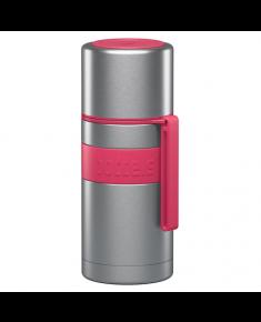 Boddels HEET Vacuum flask with cup Raspberry red, Capacity 0.35 L, Diameter 7.2 cm, Bisphenol A (BPA) free