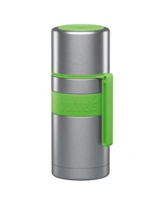Boddels HEET Vacuum flask with cup  Apple green, Capacity 0.35 L, Diameter 7.2 cm, Bisphenol A (BPA) free
