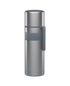 Boddels HEET Vacuum flask with cup  Light grey, Capacity 0.5 L, Diameter 7.2 cm, Bisphenol A (BPA) free