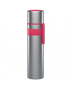 Boddels HEET Vacuum flask with cup Isothermal, Raspberry red, Capacity 0.7 L, Diameter 7.2 cm, Bisphenol A (BPA) free