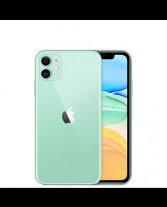 """Apple iPhone 11 Green, 6.1 """", IPS LCD, 828 x 1792 pixels, Hexa-core, Internal RAM 4 GB, 64 GB, Single SIM, Nano-SIM and eSIM, 3G, 4G, Main camera 12+12 MP, Secondary camera 12 MP, iOS, 13, 3110 mAh"""