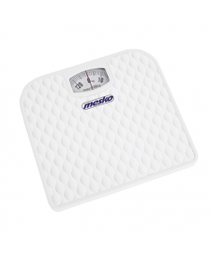 Mesko Bathroom mechanical scale MS 8160 Maximum weight (capacity) 130 kg, Accuracy 1000 g, White