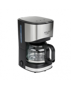 Adler Coffee maker AD 4407 Drip, 550 W, Black