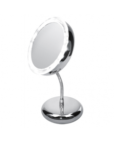 Adler Mirror, AD 2159, 15 cm, LED mirror, Chrome
