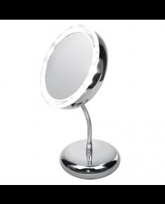 Adler Mirror, AD 2159, 15 cm, LED mirror, Chrome