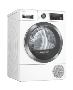 Bosch Dryer mashine WTX8HKL9SN Energy efficiency class A++, Front loading, 9 kg, Heat pump, LED, Depth 60 cm, White, SelfCleaning Condenser, Home conect