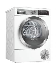 Bosch Dryer mashine WTX8HEL9SN Front loading, Heat pump, 9 kg, Energy efficiency class A+++, White, Display, TFT, Depth 60 cm, Wi-Fi