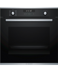 Bosch Oven HBG278BS0S Built-in, 71 L, Stainless steel/Black, Pyrolysis, A, Mechanical, Height 60 cm, Width 60 cm, Multifunctional