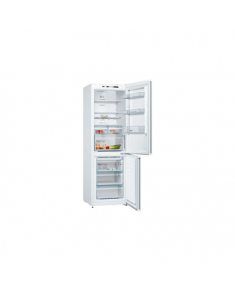 Bosch Refrigerator KGN36VW35 Free standing, Combi, Height 186 cm, A++, No Frost system, Fridge net capacity 237 L, Freezer net capacity 87 L, Display, 39 dB, White