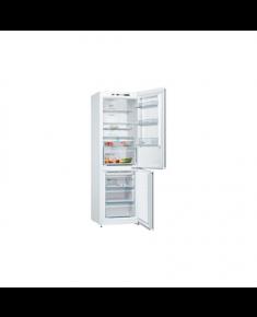 Bosch Refrigerator KGN36VW35 Free standing, Combi, Height 186 cm, A++, No Frost system, Fridge net capacity 237 L, Freezer net capacity 87 L, Display, 39 dB, White