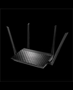 Asus Router RT-AC58U 802.11ac, 10/100/1000 Mbit/s, Ethernet LAN (RJ-45) ports 4, MU-MiMO Yes, No mobile broadband, Antenna type External, AP/Bridge, Media Server, ASUS Router APP, AiDisk, AiRadar