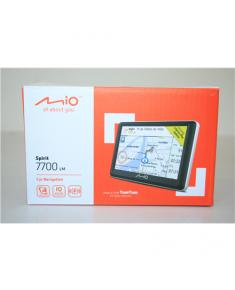 "SALE OUT. MIO Spirit 7700 Navigation Mio Car navigation Spirit 7700 DAMAGED PACKAGING, 5"" touchscreen pixels, GPS (satellite), Maps included"