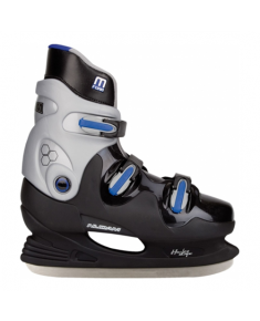 0089 ICE HOCKEY SKATE HARDBOOT BLUE 45
