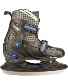 3024 ICE HOCKEY SKATE JUNIOR ADJUSTABLE HARDBOOT 38-41