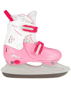 3021 FIGURE SKATE GIRLS ADJUSTABLE HARDBOOT 30-33