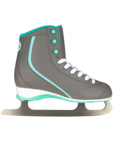 3236 FIGURE SKATE SPORTS WOMEN SOFTBOOT 38 SKO Figure skating Sports Nijdam Mint green / gray
