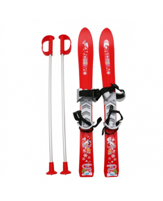 Frendo 605021 Children's Skis, Red
