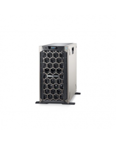 """Dell PowerEdge T340 Tower, Intel Xeon, E-2124, 3.3 GHz, 8 MB, 4T, 4C, UDIMM DDR4, 2666 MHz, No RAM, No HDD, Up to 8 x 3.5"""", Hot-swap hard drive bays, PERC H330, Single, Hot-plug, Power supply 495 W, iDRAC9 Basic, No Rails, No OS, Warranty Basic Onsite 36 month(s)"""