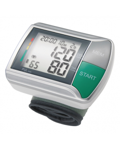 Medisana 51067 White/Silver, Wrist Blood pressure monitor