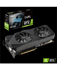 Asus DUAL-RTX2060S-O8G-EVO-V2 NVIDIA, 8 GB, GeForce RTX 2060 SUPER, GDDR6, PCI Express 3.0, Processor frequency 1695  MHz, DVI-D ports quantity 1, HDMI ports quantity 2, Memory clock speed 14000  MHz