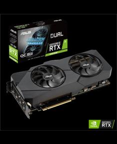 Asus DUAL-RTX2080S-O8G-EVO-V2 NVIDIA, 8 GB, GeForce RTX 2080 SUPER, GDDR6, Processor frequency 1830 MHz, HDMI ports quantity 1, Memory clock speed 15500 MHz