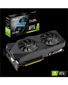 Asus DUAL-RTX2060S-A8G-EVO-V2 NVIDIA, 8 GB, GeForce RTX 2060 SUPER, GDDR6, PCI Express 3.0, Processor frequency 1665  MHz, DVI-D ports quantity 1, HDMI ports quantity 2, Memory clock speed 14000  MHz