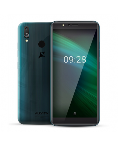 "Allview A10 Max Gradient Turquoise, 5.99 "", IPS LCD, 480 x 960, Cortex-A7 Quad-core, Internal RAM 1 GB, 8 GB, Micro SD, Dual SIM, Nano SIM, 3G, Main camera 13 MP, Secondary camera 13 MP, Android, 8.1, 3200 mAh"
