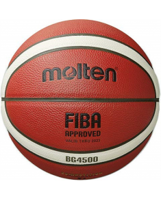 Basketball ball TOP competition MOLTEN B7G4500-X FIBA, synth. leather size 7