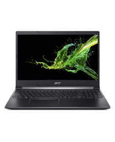 "Acer Aspire 7 A715-74G-78SM Black, 15.6 "", IPS, Full-HD, 1920 x 1080 pixels, Matt, Intel Core i7, i7-9750H, 8 GB, DDR4, SSD 256 GB, NVIDIA GeForce GTX 1650, GDDR5, 4 GB, No ODD, Windows 10 Home, 802.11 ax/ac/a/b/g/n, Bluetooth version 5.0, Keyboard language English, Keyboard backlit, Warranty 24 month(s), Battery warranty 12 month(s)"