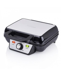 Tristar Waffle maker WF-2195 1000 W, Number of pastry 2, Belgium, Black