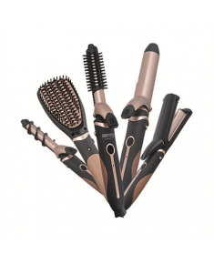 Camry Hair Styler CR 2024 1200 W, Black/Rose gold