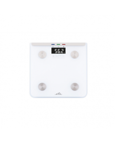 ETA Scales Laura ETA078190000 Body analyzer, Maximum weight (capacity) 180 kg, Accuracy 100 g, White