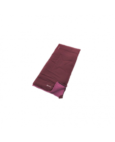 Outwell Champ Kids Sleeping bag, Deep Red