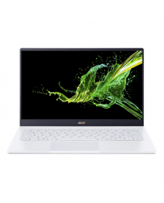 "Acer Swift 5 SF514-54T-5412 White, 14 "", Touchscreen, FHD, 1920 x 1080 pixels, Matt, Intel Core i5, i5-1035G1, 8 GB, DDR4, SSD 256 GB, Intel UHD Graphics, No ODD, Windows 10 Home, 802.11 ax/ac/a/b/g/n, Bluetooth version 5.0, Keyboard language English, Keyboard backlit"
