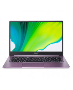 "Acer Swift 3 SF314-42-R9NN Purple, 14 "", IPS, Full-HD, 1920 x 1080 pixels, Matt, AMD Ryzen 3, Ryzen 3 4300U, 8 GB, SSD 256 GB, AMD Radeon Graphics, No ODD, Windows 10 Home, 802.11 ax/ac/a/b/g/n, Bluetooth version 5.0, Keyboard language English, Keyboard backlit, Warranty 24 month(s), Battery warranty 12 month(s)"