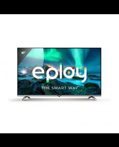 "Allview 40ePlay6100-F 40"", Smart TV, Android 9.0 TV, Full HD, 1920 x 1080 pixels, Wi-Fi, DVB-T/T2/C/S/S2, Black/Silver"