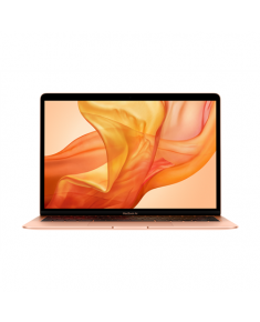 "Apple MacBook Air Gold, 13.3 "", IPS, 2560 x 1600, Intel Core i3, 8 GB, LPDDR4X, SSD 256 GB, Intel Iris Plus, Without ODD, macOS, 802.11ac, Bluetooth version 5.0, Keyboard language English, Russian, Keyboard backlit, Warranty 12 month(s), Battery warranty 12 month(s)"