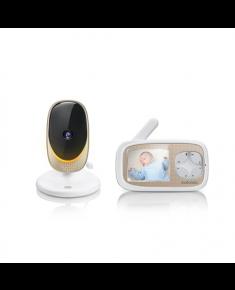 Motorola Comfort 40 Connect Baby Monitor, White/Gold