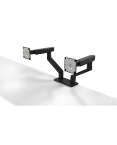 "Dell Dual Monitor Arm Desk Mount, MDA20, 19-27 "", Maximum weight (capacity) 10 kg, Black"